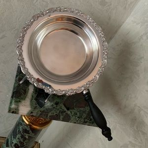 Antique Silver dish with handles